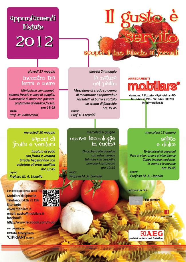 Il gusto è servito - estate 2012