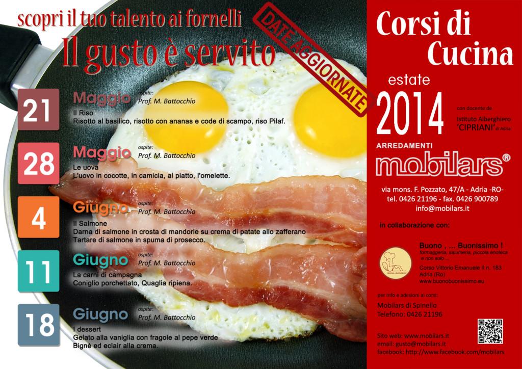 Calendario corsi mobilars - Corsi di cucina catania ...