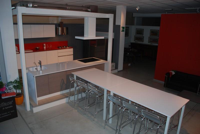 Vista della cucina attrezzata per i corsi